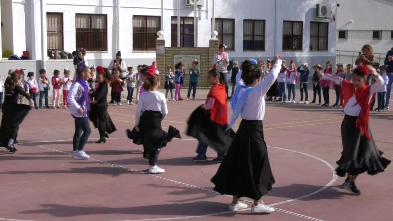 El colegio palenque celebra el día internacional del flamenco con diversas actividades dirigidas a los alumnos - RTV Los Palacios